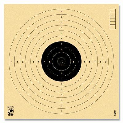 BERSAGLIO P10 UFFICIALE - NON NUMERATO - (100 PZ)