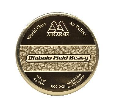 Pallino AA HEAVY 4,52 - BOX 9 confezioni (4500 pz)