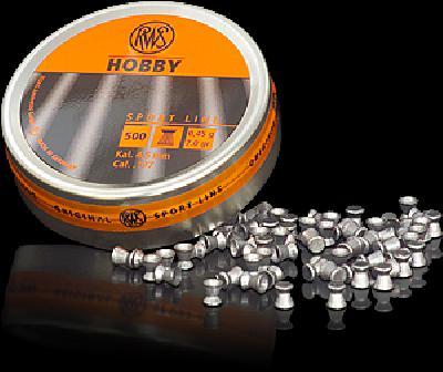 Pallino RWS HOBBY cal. 4,5 - 0,45 g BOX 10 TIN (5000pz)