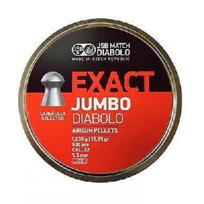 Pallino JSB EXACT JUMBO DIABOLO 5,52 - 500 pz