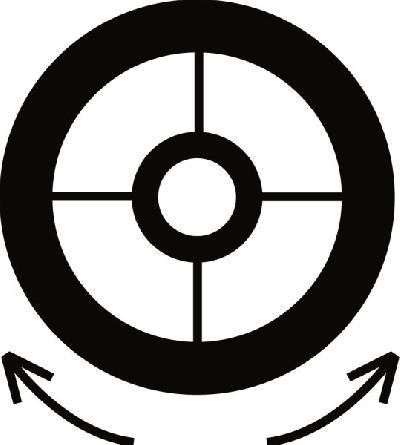 MIRINO REGOLABILE VARIO 2.8-4.8 mm 22 Corda 2.0