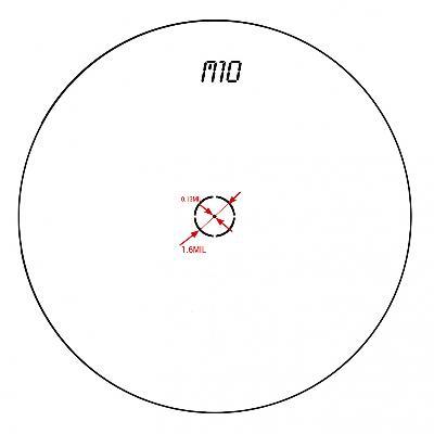 OTTICA DIGITALE KONUSPRO MULTIRETICOLO EL-30 4-16X44