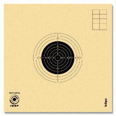 BERSAGLIO C10 UFFICIALE - NON NUMERATO - (100 PZ)