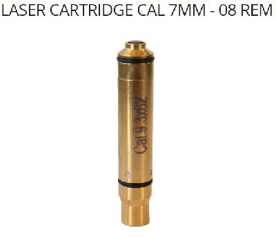 CARTUCCIA LASER ACCURIZE Cal.7 MM - 08 REM
